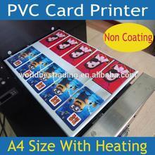 [K-PRINT] 6 Years Experience-Multi-Purpose Printer-Plastic PVC Card ID Card Printer 10PCS/Print Non Coating Card Printer Flatbed