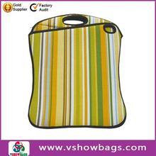 factory promotion black neoprene laptop sleeve case custom printed neoprene laptop sleeve