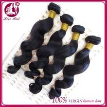 Natural quality premium vietnam hair no shedding human virgin hair extension