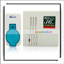 JXD-XS125 100m Mini Intelligent Wireless Remote Control Doorbell