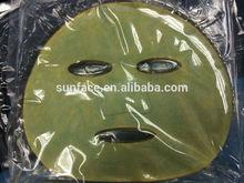 powder peel off face mask/funny face hospital mask