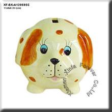 unique paint your pottery puppy money box