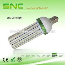cost shipping from china to egypt SNC UL/TUV/CE/ROHS approved e27/e40 led corn light/led bulb/led corn cob light