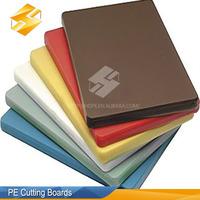 High density polyethylene large plastic cutting board chopping board