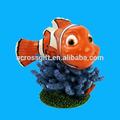 akvaryum karakteri süsler reçine balık heykelleri