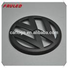 BLACK FRONT BUMPER GRILLE BADGE & REAR BOOT TRUNK EMBLEM VW GOLF MK5 TDI GTI