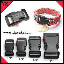 Custom Paracord Buckles With LOGO, Plastic LOGO buckles