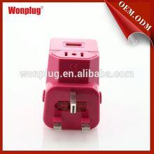 Colorful NEW Style Item american power plug/socket