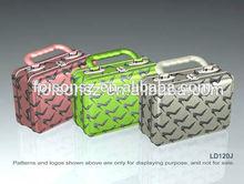 regular shape with sexy shoes design metal tin purse