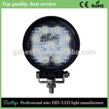bestop High Quality super bright new 27w car led tuning light/led work light