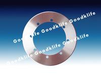 Full tungsten carbide round knives for corrugator machine