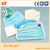 Single use Free dental care dental examination set kit