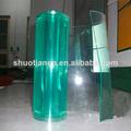 Alta claro e transparente de plástico da cortina, pvc cortina de plástico transparente