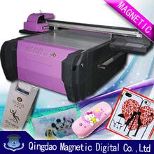 digital flatbed uv printer for objects/ white ink printing uv printer