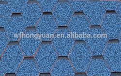mosaic type fiberglass bitumen roof shingles