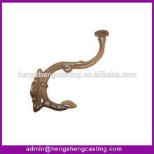 cast iron decorative hat/coat hook for elephant nose style