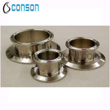 Food grade stainless steel end cap reducer