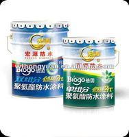 polyurethane roofing sheet/moisture cured polyurethane coating/PU waterproof coating