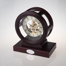 antique wood table Clock K3018P