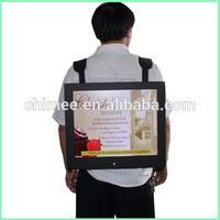 15inch lcd walkman portable hdmi dvd ad player