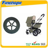 PU Polyurethane solid tire tyre wheels parts accessories OEM baby shower carrige