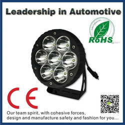 Newest product! 70w high power ip68 waterproof car work light for off road