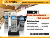 KDB201 14 unit video intercom system