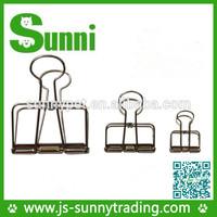 Stationary Item 19mm golden double binder clip Reach International Standard