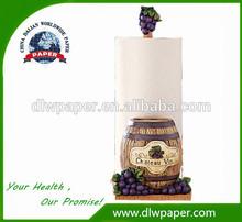 Boa água e óleo de absorção de toalha de papel de cozinha, Feito de 100% virgin pulp