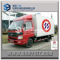 Foton 4X2 115hp 4t van box cargo truck