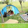 Single layer self erecting tent