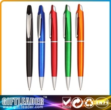 fancy push ball point pen for promotional with comfortable click XSGP-2724