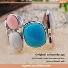 wholesale 925 sterling silver jewelry opal amazonite ocean jasper bead bracelet