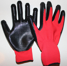 China 13G nitrile glove for gardening,work gloves,safety gloves