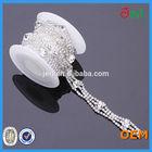 high quality sew on fashion 888 rhinestone chain for garment