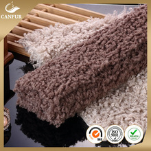 100% acrylic knitting crimp the lambs wool fabric