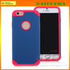 """cheap 2 in 1 shockproof smartphone case for iphone 6 4.7"""" Shockproof heavy duty case for iPhone 6 5.5 inch"""
