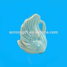 vintage decorativos para el hogar cisnes de cerámica