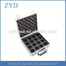 Lightweight padding storage case sturdy aluminium pool ball case, ZYD-BR664