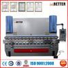 WC67K electro hydraulic CNC press brake tools