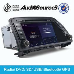 12v car aux mp3 player car cd for Mazda 6 with radio car gps navigator parking sensor