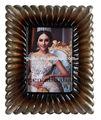 antiguo de boda hermosa foto del stand de marco de imagen