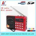 портативный мини-mp3-плеер fm-радио спикер
