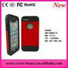 High quality 2 in one TPU+PC case with Screen protector for Apple iPhone5G/5S for iPhone5S case