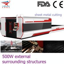 IPG 500W Metal fiber laser cutting machine/IPG 500W Fibra de metal de la maquina de corte por laser