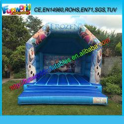 2014 Latest Crazy inflatable frozen jumping castle , frozen bouncy castle for sale