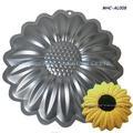 o uso de alimentos de alumínio flor em forma de bolo assar pan
