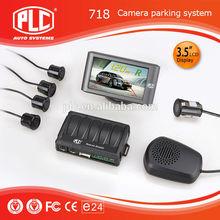 High quality night vision odm PLC 718 car camera parking sensor system