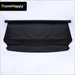 Black Rear Cargo Cover for Mitsubishi Montero Sport 2010-2013