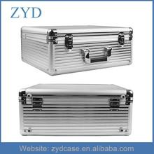 Silver Metal Truck Tool Case Diamond Aluminum Tool Box ZYD-LX92504
